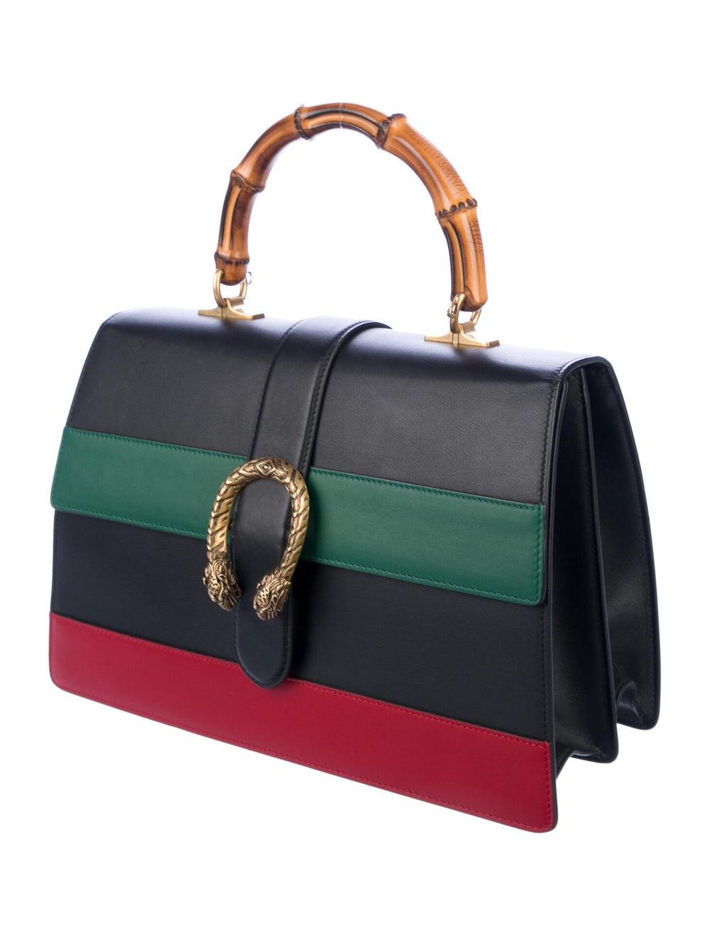 Gucci Large Dionysus Bamboo Handle Bag Black - image 3
