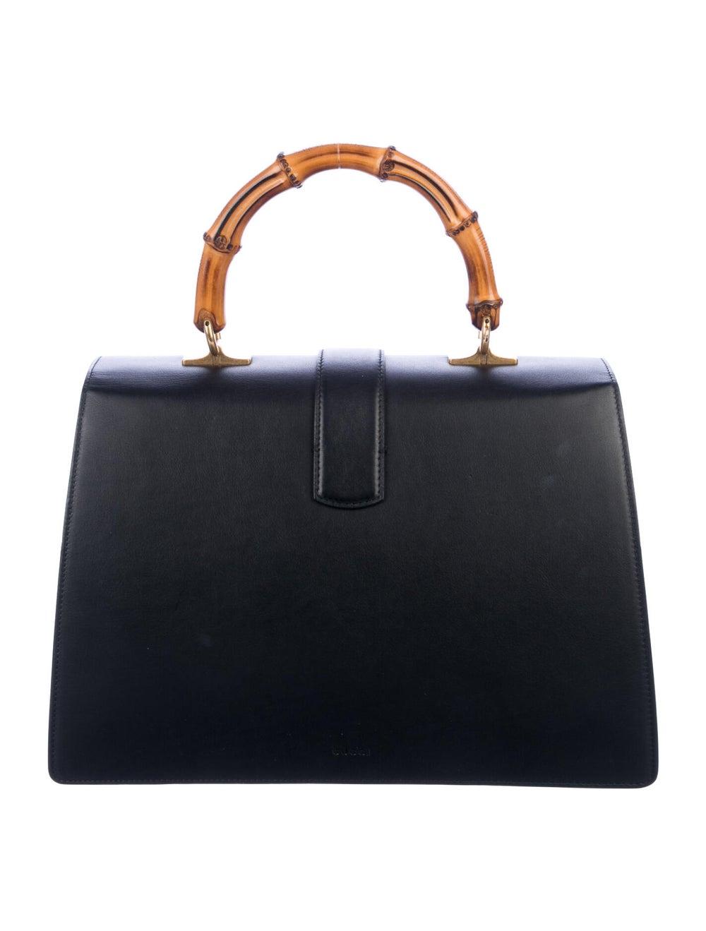 Gucci Large Dionysus Bamboo Handle Bag Black - image 4