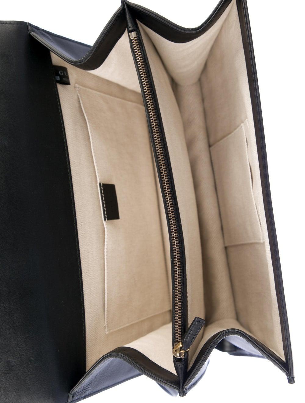 Gucci Large Dionysus Bamboo Handle Bag Black - image 5