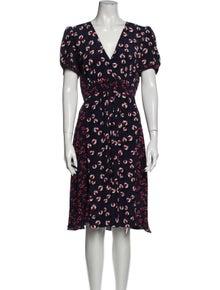 Gucci Silk Midi Length Dress