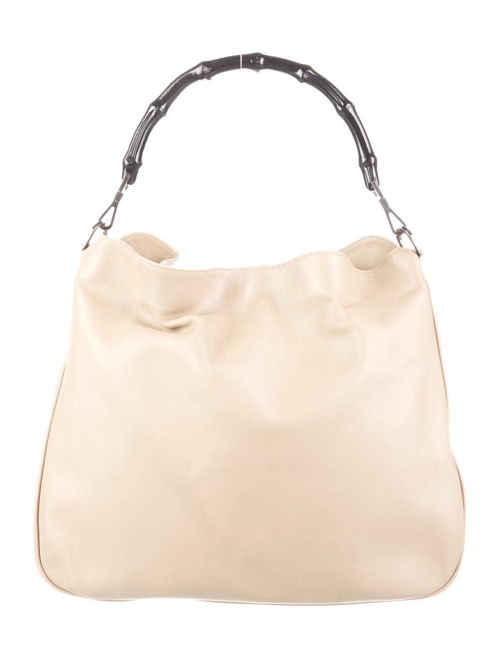 Gucci Medium Diana Bamboo Shoulder Bag Silver - image 1