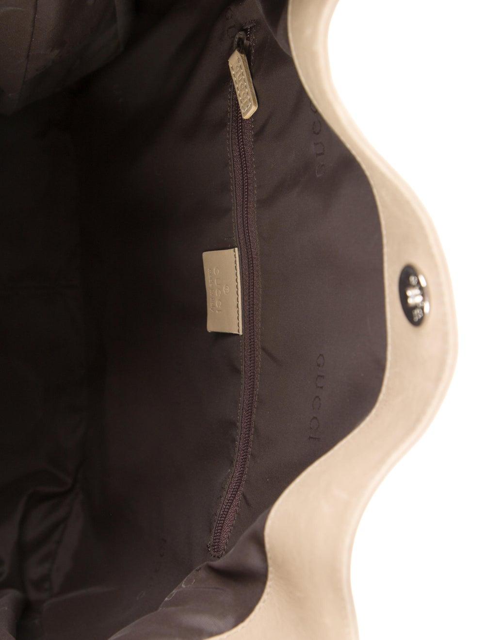 Gucci Medium Diana Bamboo Shoulder Bag Silver - image 5
