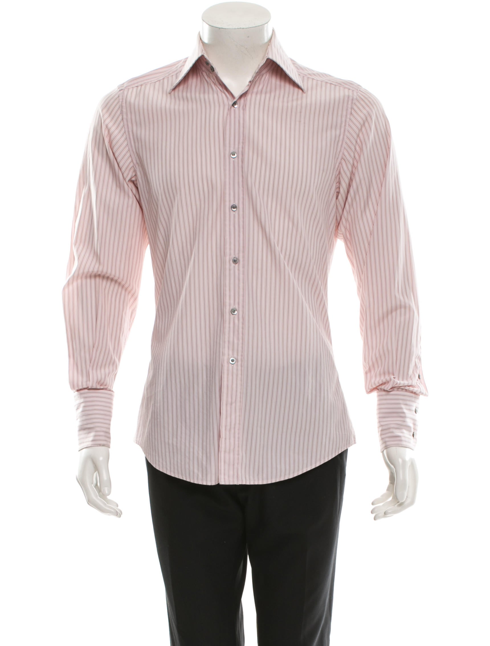 Gucci long sleeve button up shirt clothing guc71816 for Long sweaters and shirts