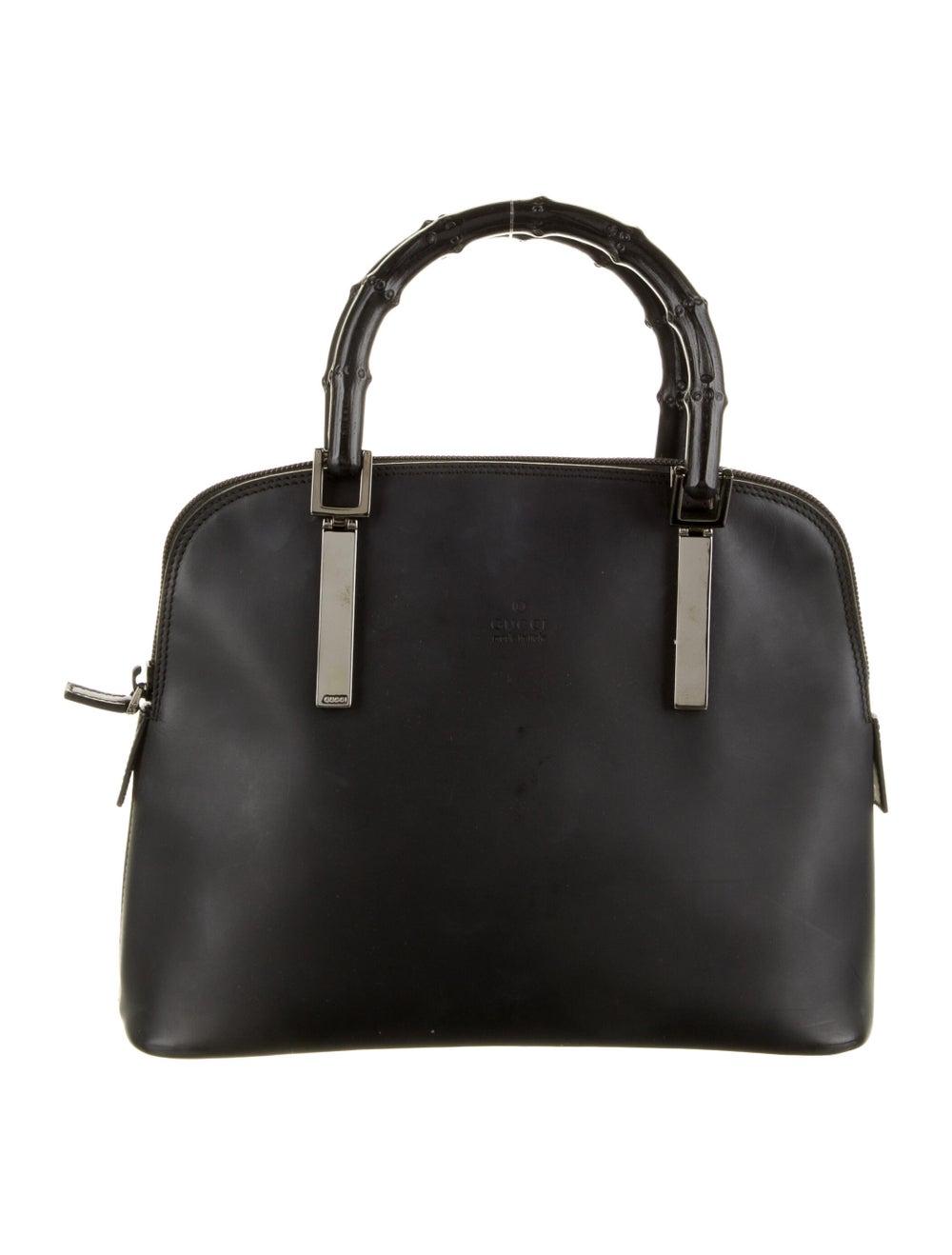Gucci Bamboo Top Handle Bag Black - image 1