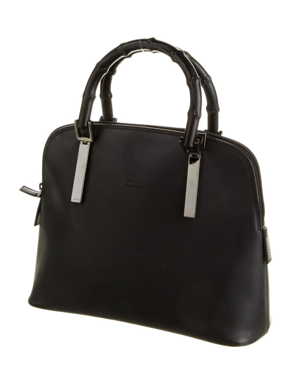 Gucci Bamboo Top Handle Bag Black - image 3