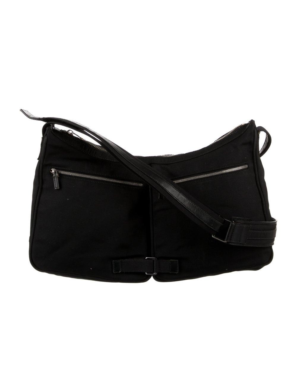 Gucci Nylon Shoulder Bag Black - image 1