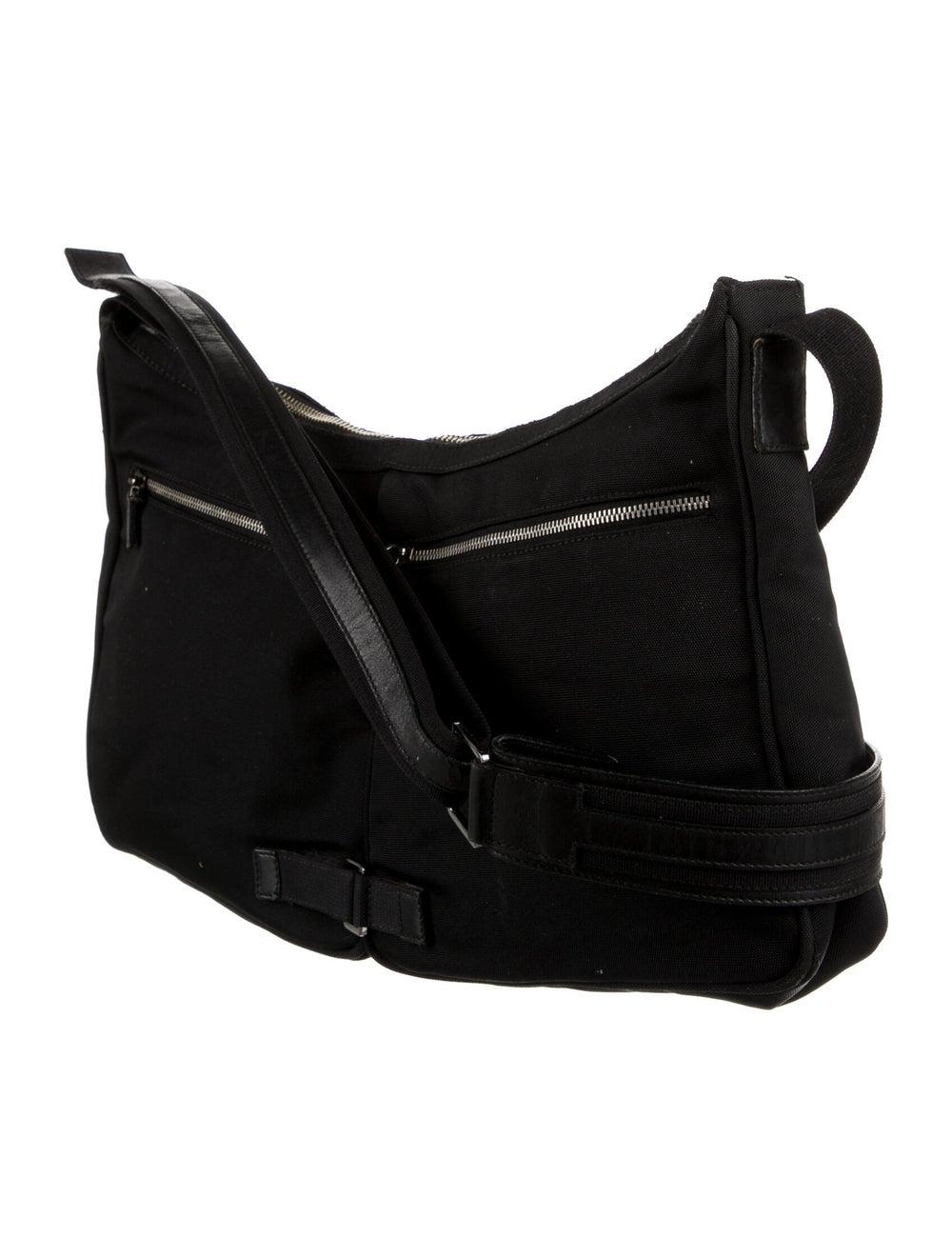 Gucci Nylon Shoulder Bag Black - image 3