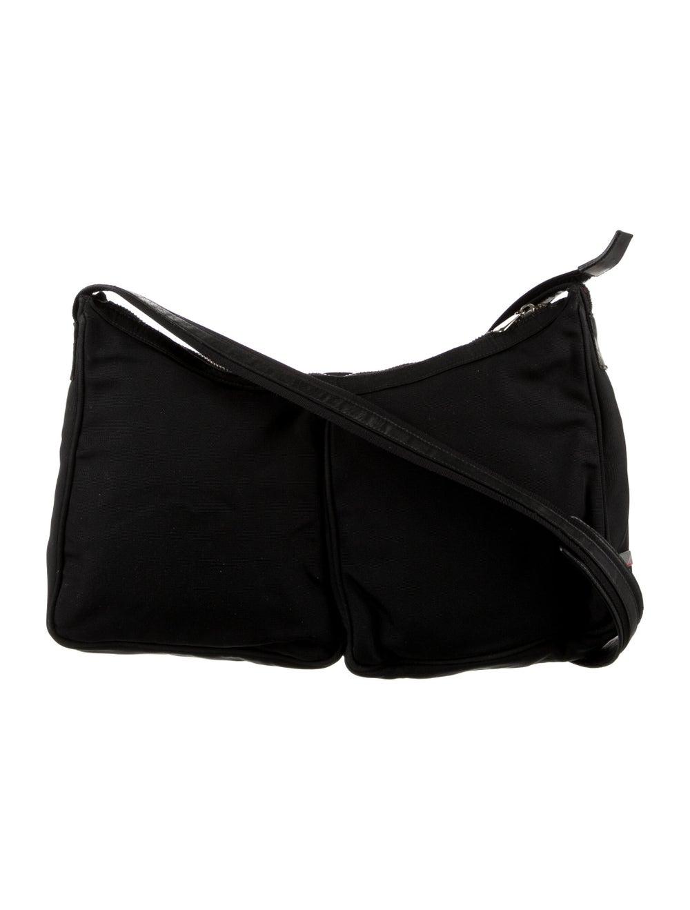 Gucci Nylon Shoulder Bag Black - image 4