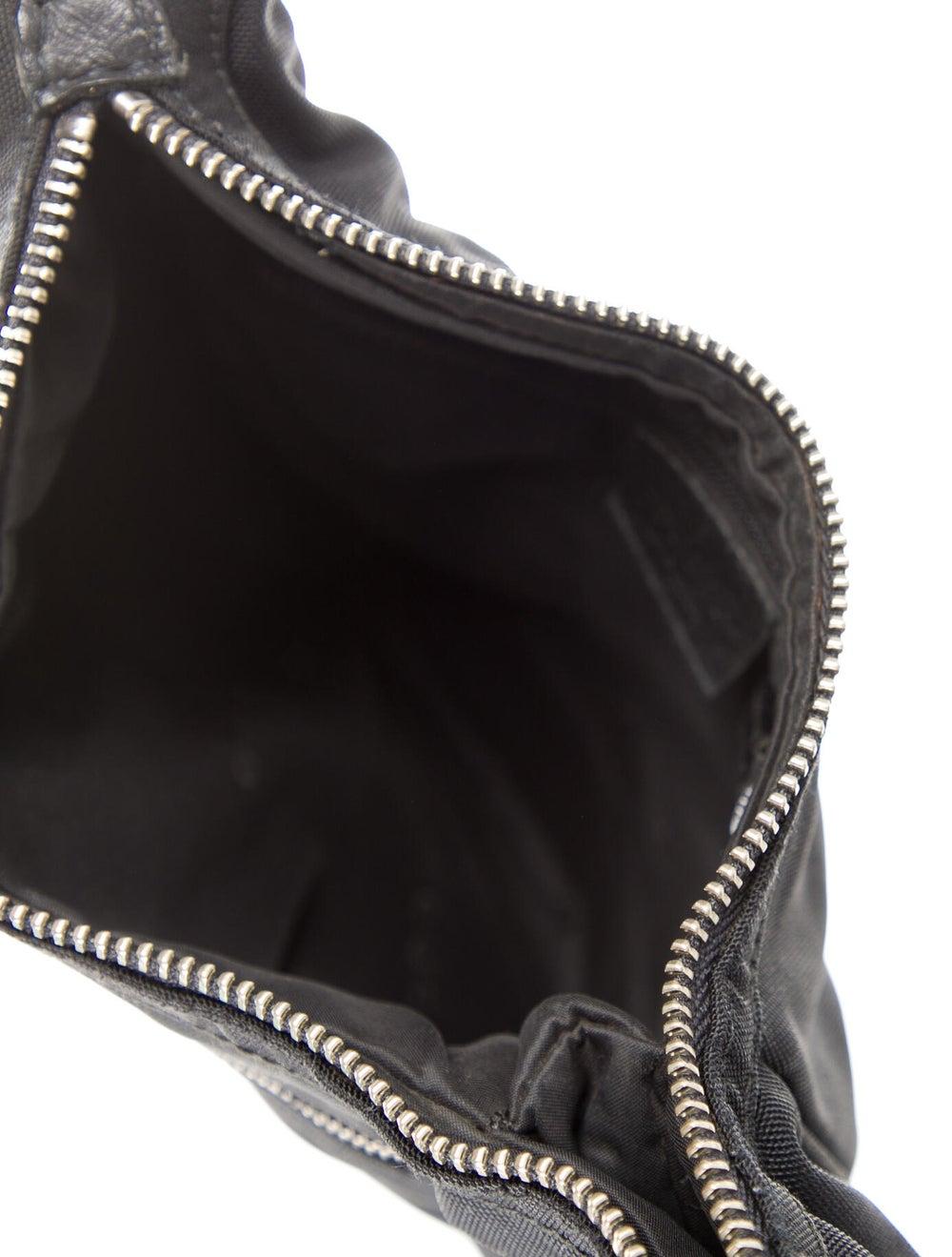 Gucci Nylon Shoulder Bag Black - image 5