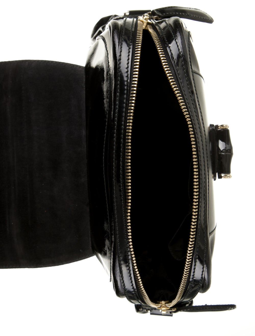 Gucci Pop Bamboo Handle Bag Black - image 5