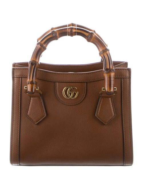 Gucci Gucci Diana Mini Tote Bag Brown