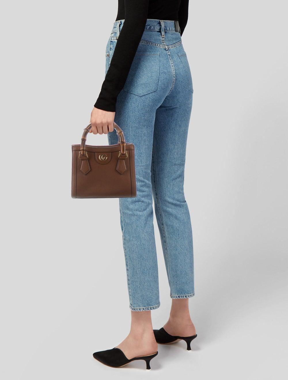 Gucci Gucci Diana Mini Tote Bag Brown - image 2