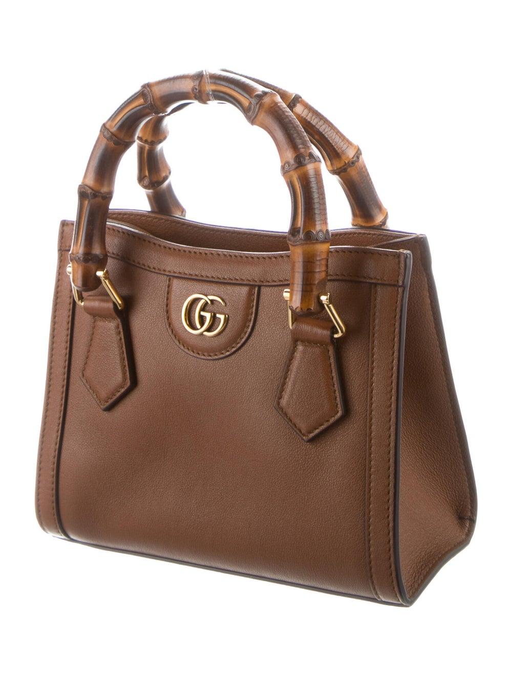 Gucci Gucci Diana Mini Tote Bag Brown - image 3