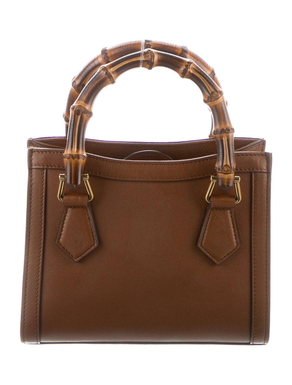 Gucci Gucci Diana Mini Tote Bag Brown - image 4