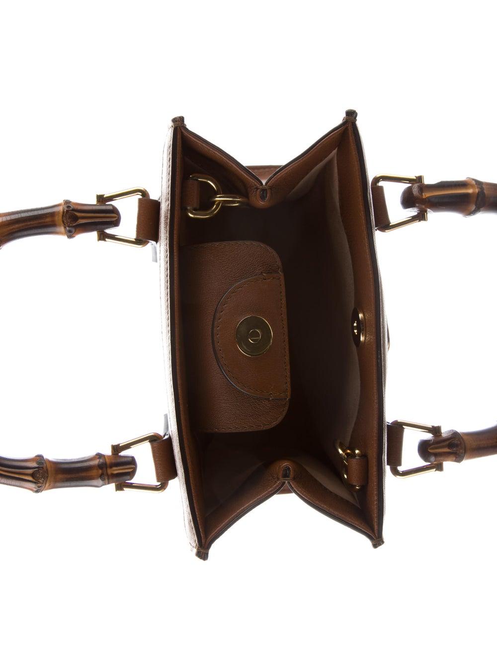 Gucci Gucci Diana Mini Tote Bag Brown - image 5
