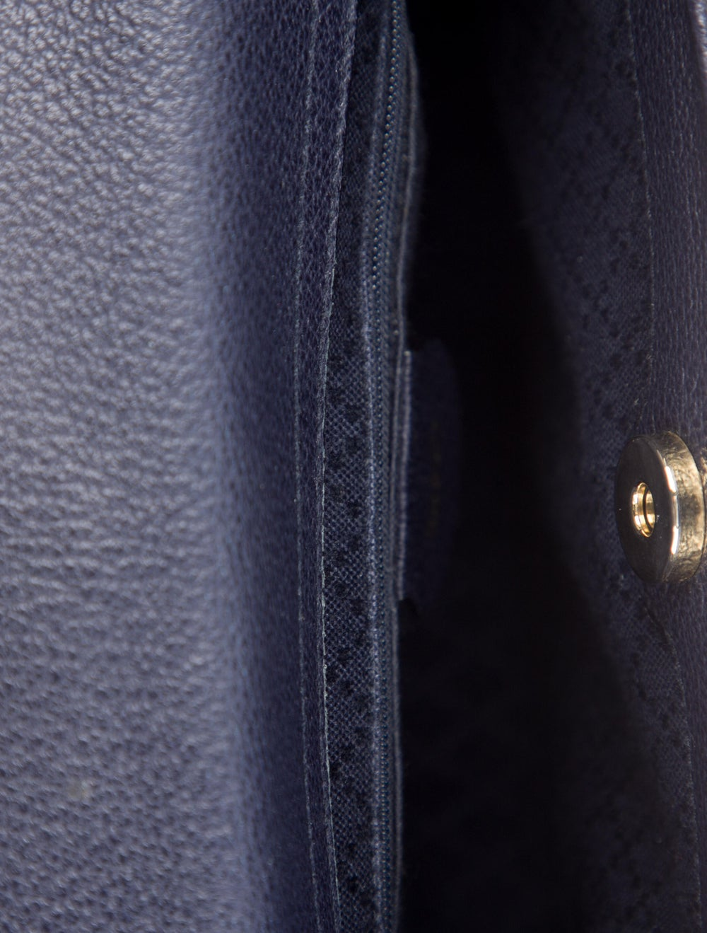 Gucci Vintage Mini Bamboo Handle Bag Blue - image 5