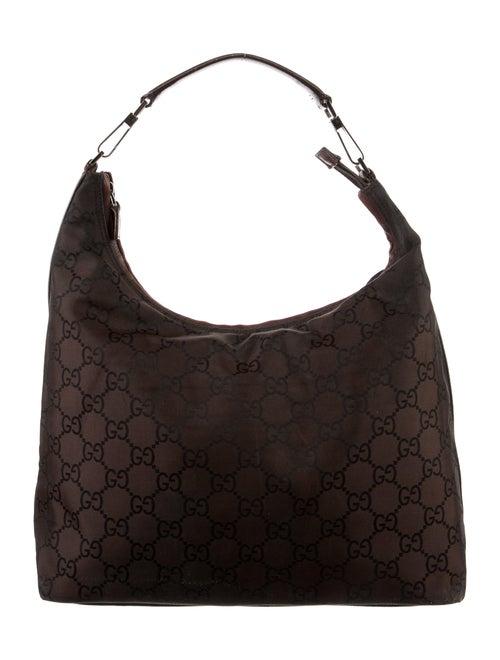 Gucci Leather Diana Shoulder Bag Gold - image 1