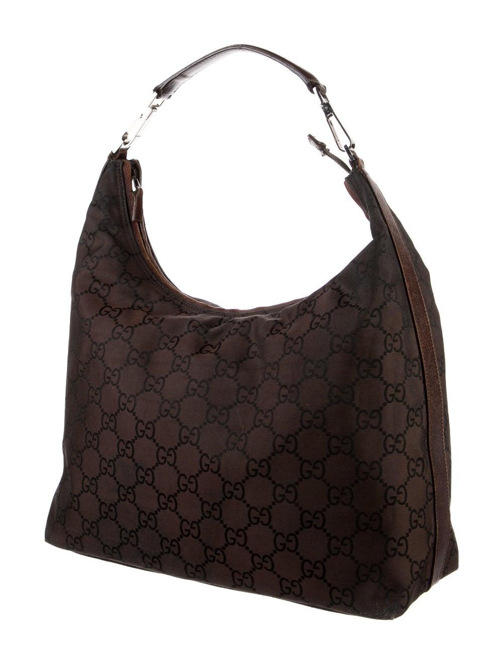 Gucci Leather Diana Shoulder Bag Gold - image 3