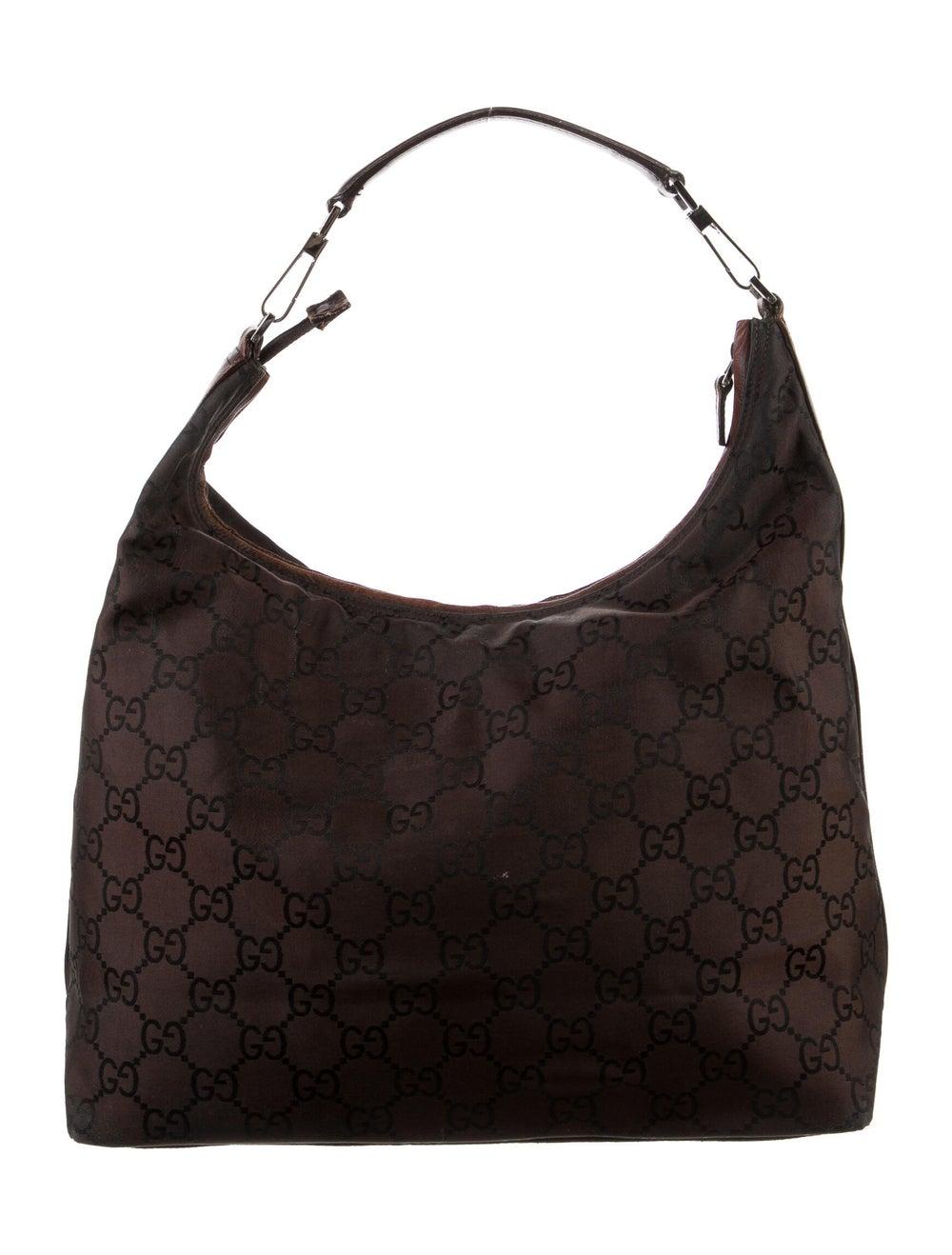 Gucci Leather Diana Shoulder Bag Gold - image 4