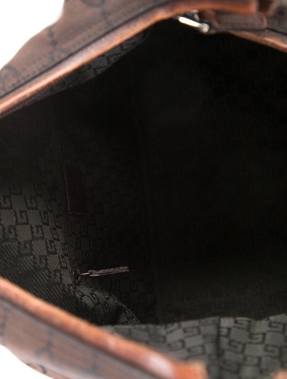 Gucci Leather Diana Shoulder Bag Gold - image 5