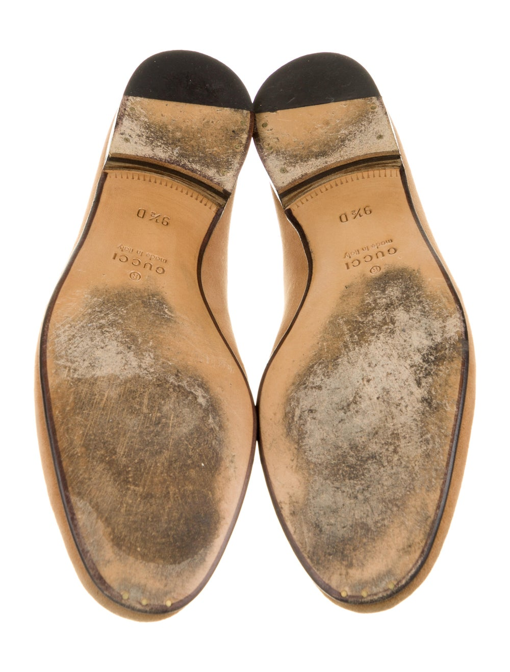Gucci Horsebit Accent Suede Dress Loafers Brown - image 5