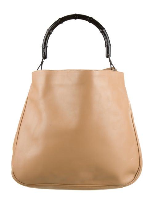Gucci Diana Bamboo Shoulder Bag Silver