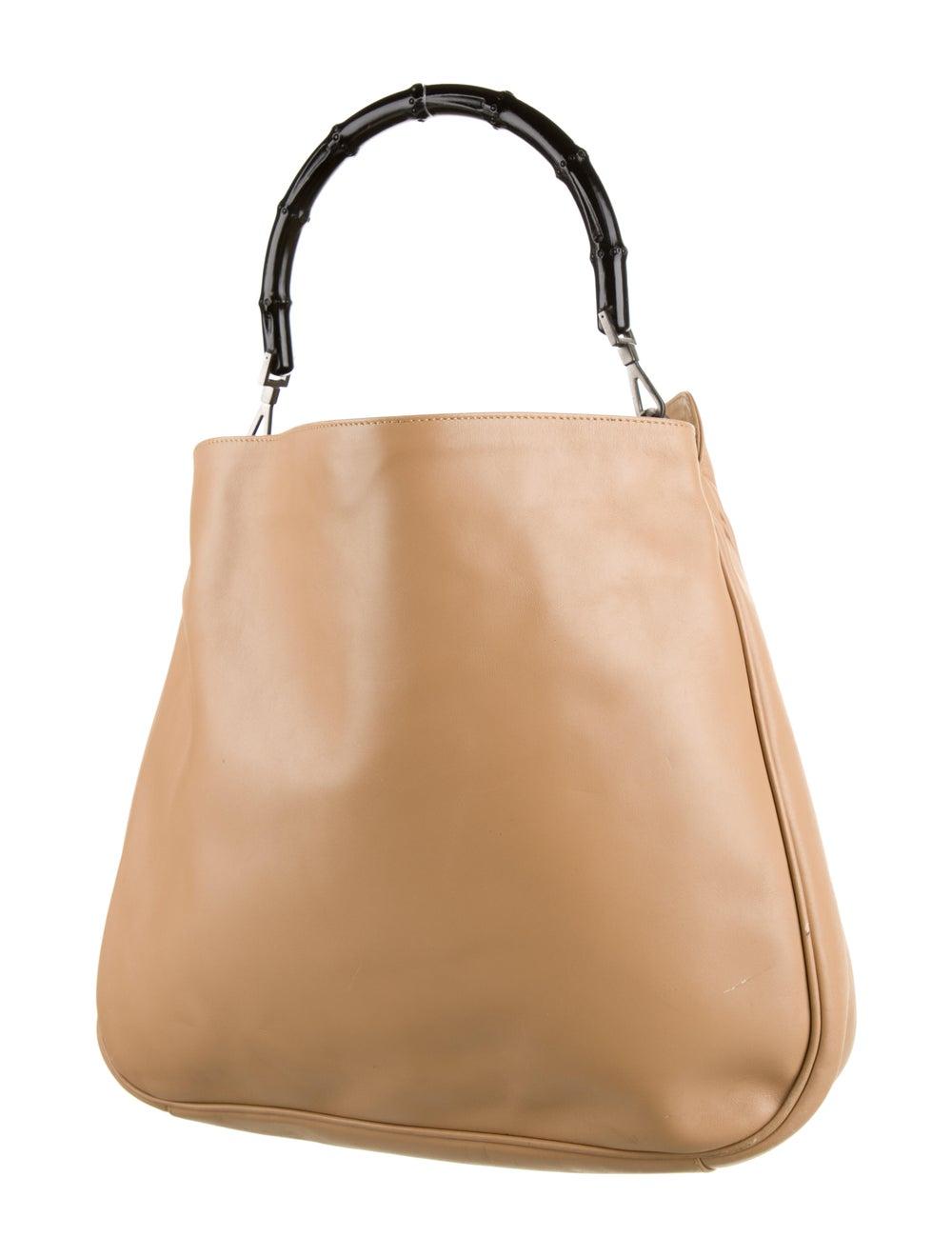 Gucci Diana Bamboo Shoulder Bag Silver - image 3