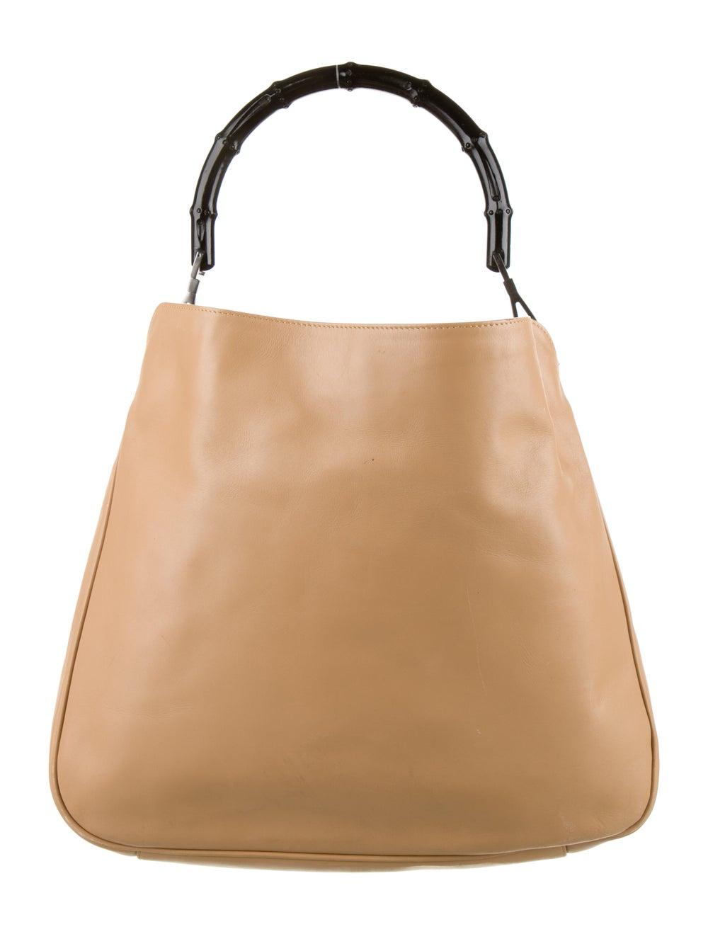 Gucci Diana Bamboo Shoulder Bag Silver - image 4