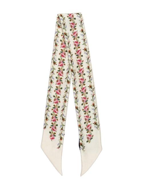 Gucci Silk Floral Print Bandeau