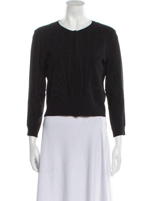 Gucci Vintage Scoop Neck Sweater Black