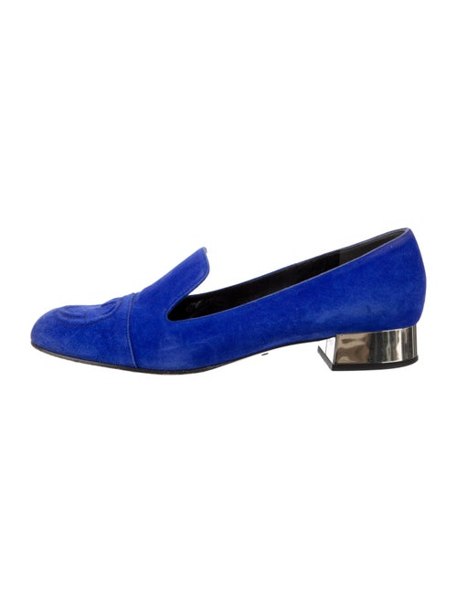 Gucci Suede Loafers Blue - image 1
