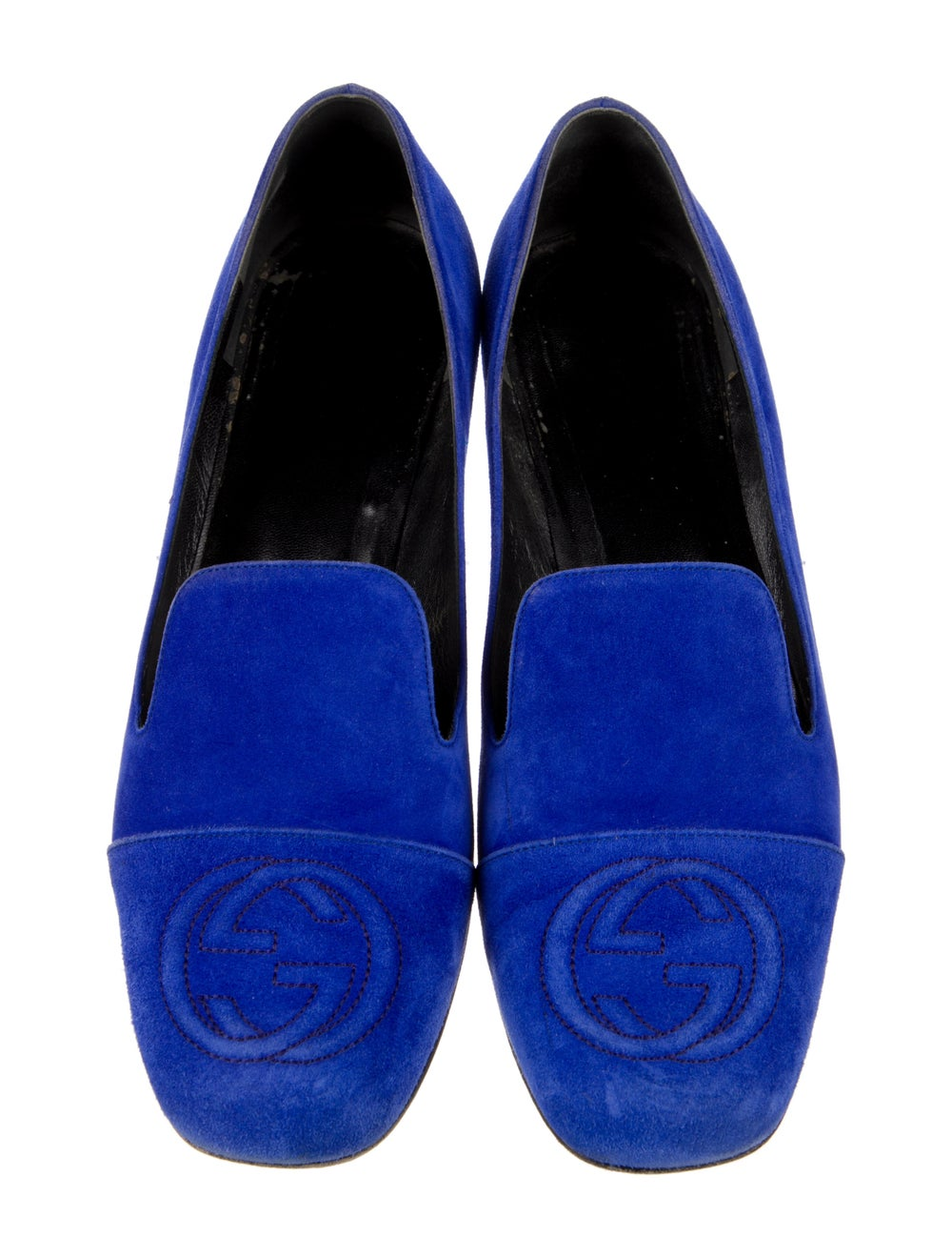 Gucci Suede Loafers Blue - image 3