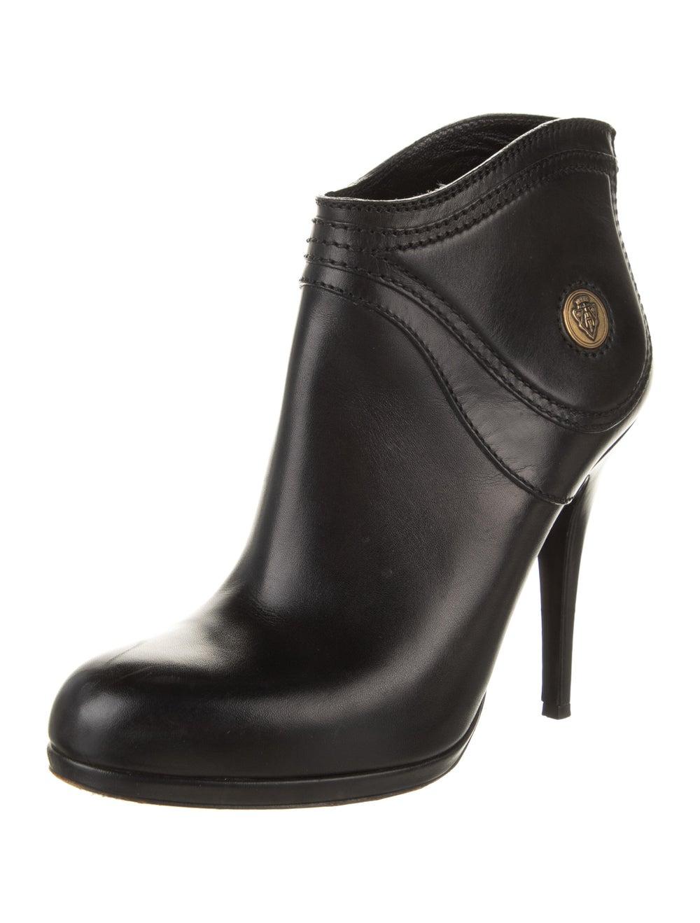 Gucci Diana Hysteria Accent Boots Black - image 2