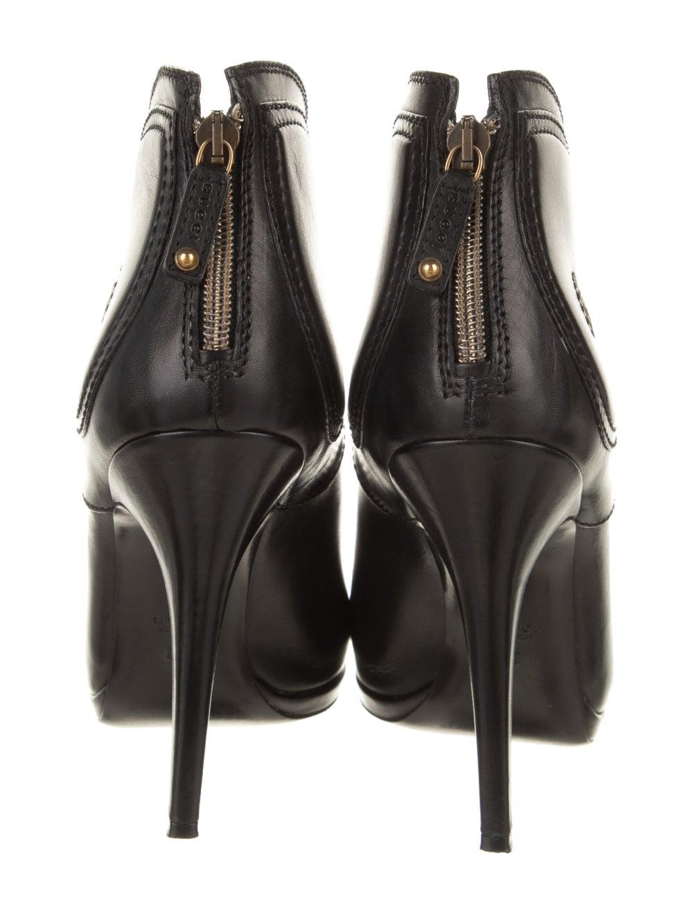 Gucci Diana Hysteria Accent Boots Black - image 4