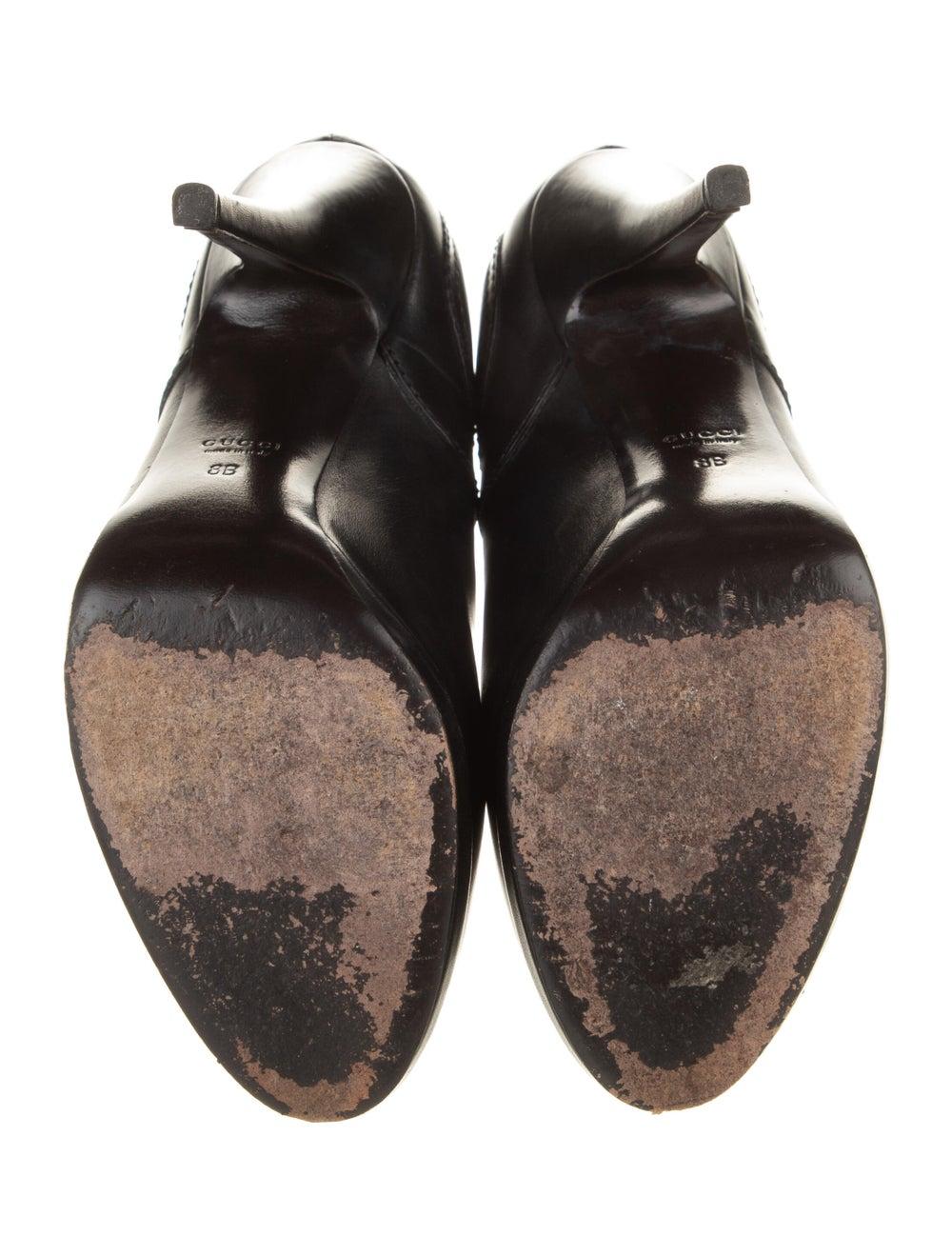 Gucci Diana Hysteria Accent Boots Black - image 5