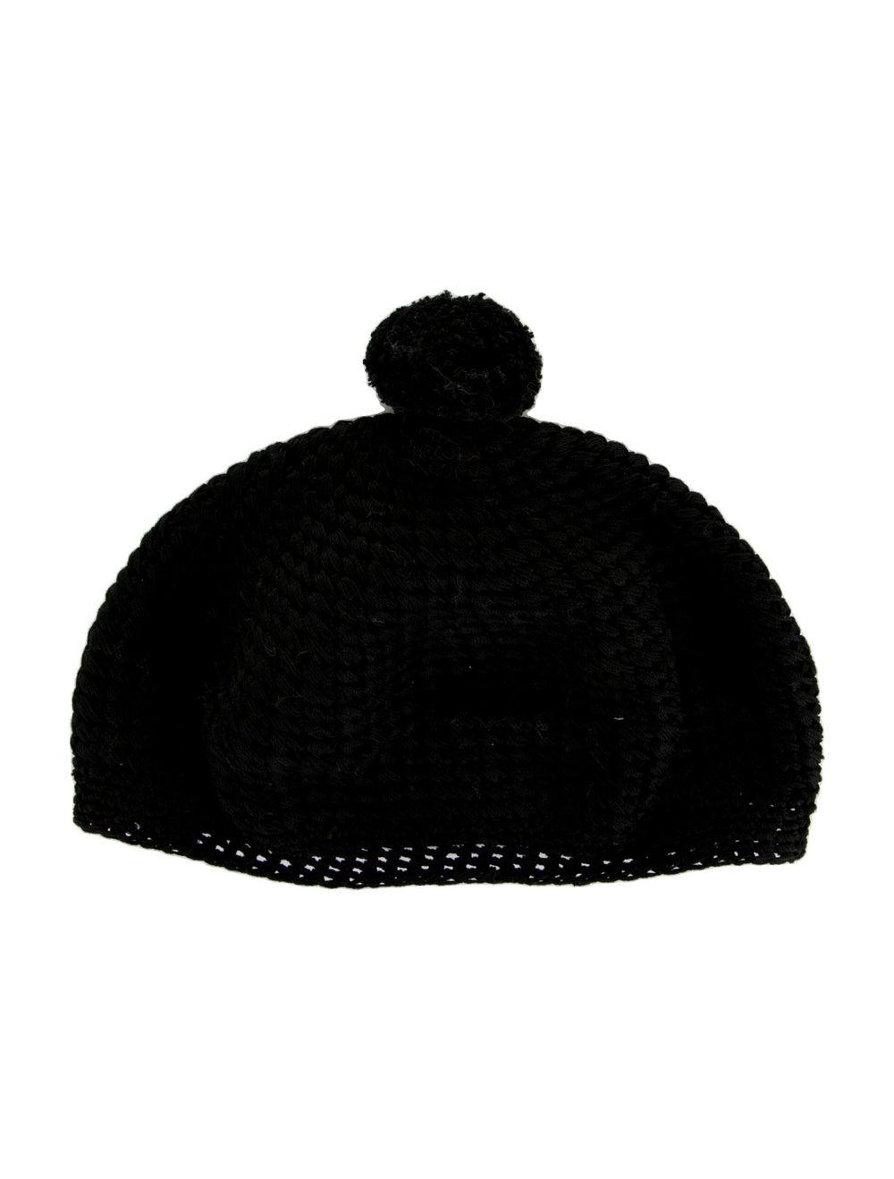 Gucci Knit Pom-Pom Beret Black - image 1