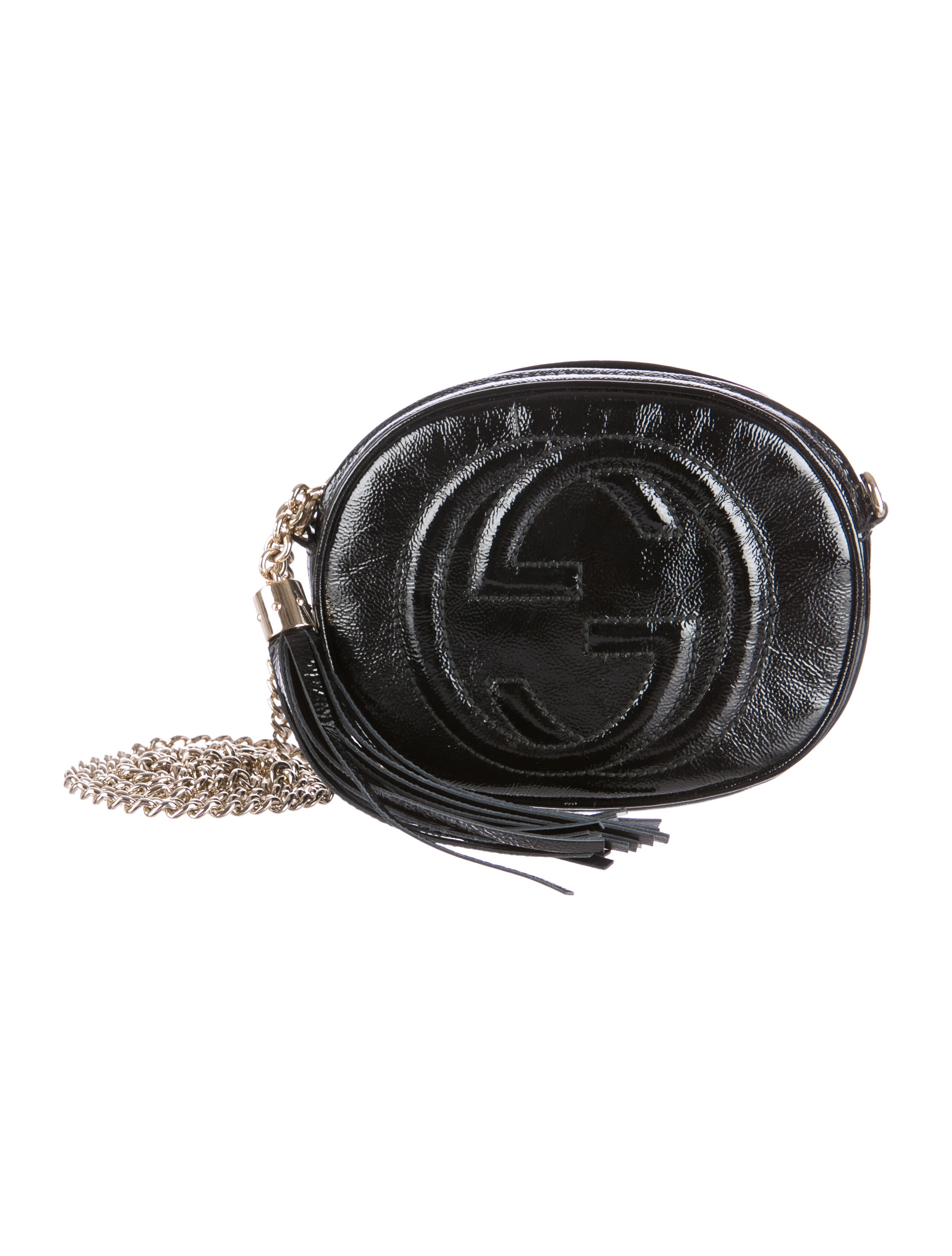 da56223060e1 Gucci Soho Leather Mini Chain Bag Black - Best Model Bag 2018