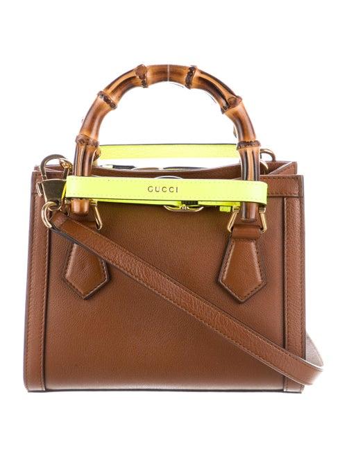 Gucci Diana Mini Tote Bag Brown - image 1