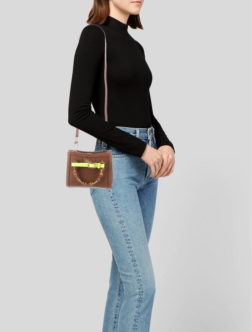 Gucci Diana Mini Tote Bag Brown - image 2