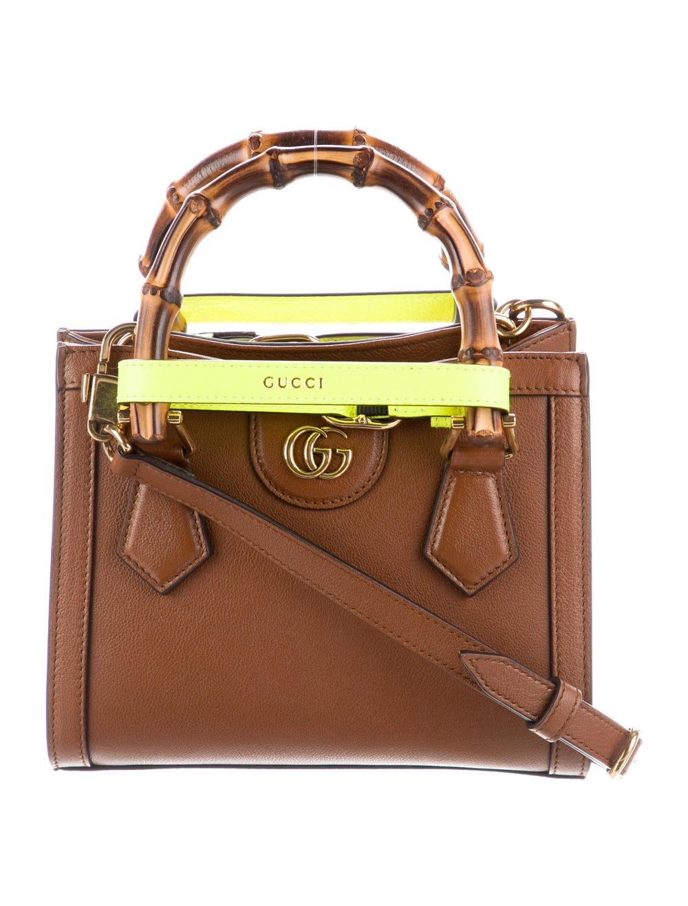 Gucci Diana Mini Tote Bag Brown - image 3