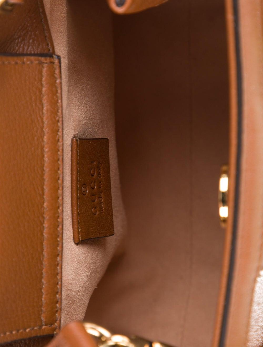 Gucci Diana Mini Tote Bag Brown - image 5