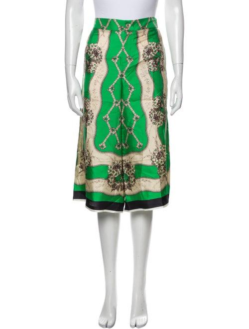 Gucci 2017 Wide Leg Pants Green - image 1