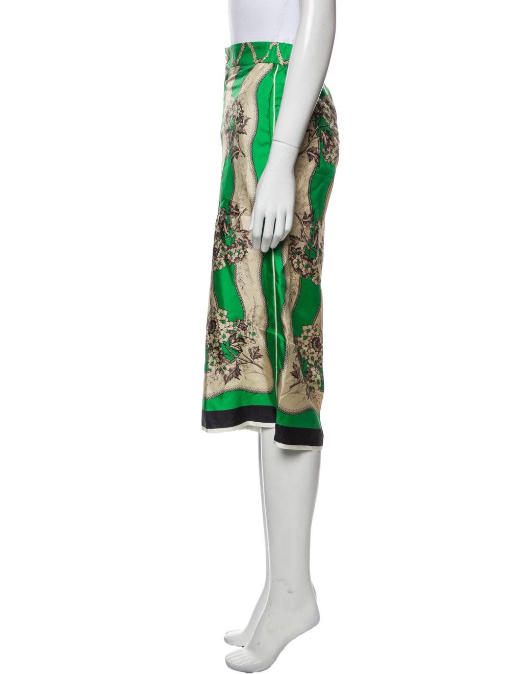 Gucci 2017 Wide Leg Pants Green - image 2