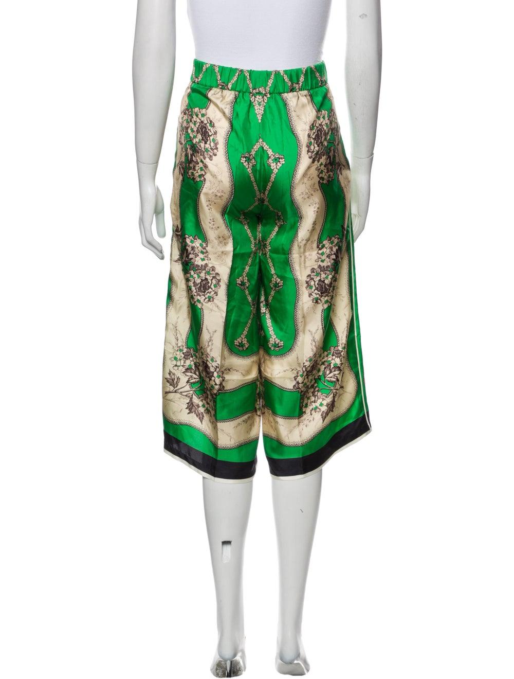 Gucci 2017 Wide Leg Pants Green - image 3