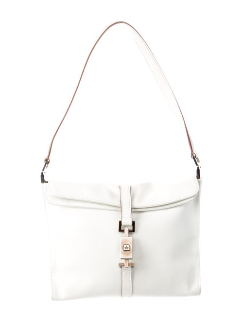 Gucci Gucci Jackie Leather Shoulder Bag White