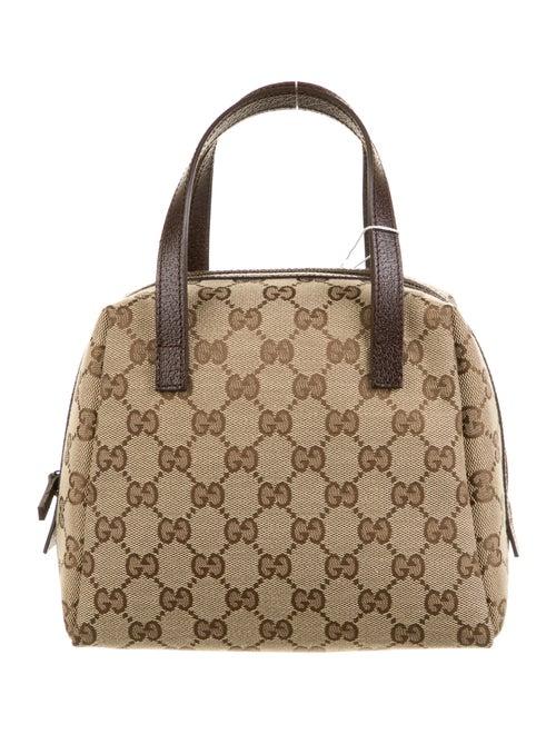 Gucci GG Canvas Handbag Brown