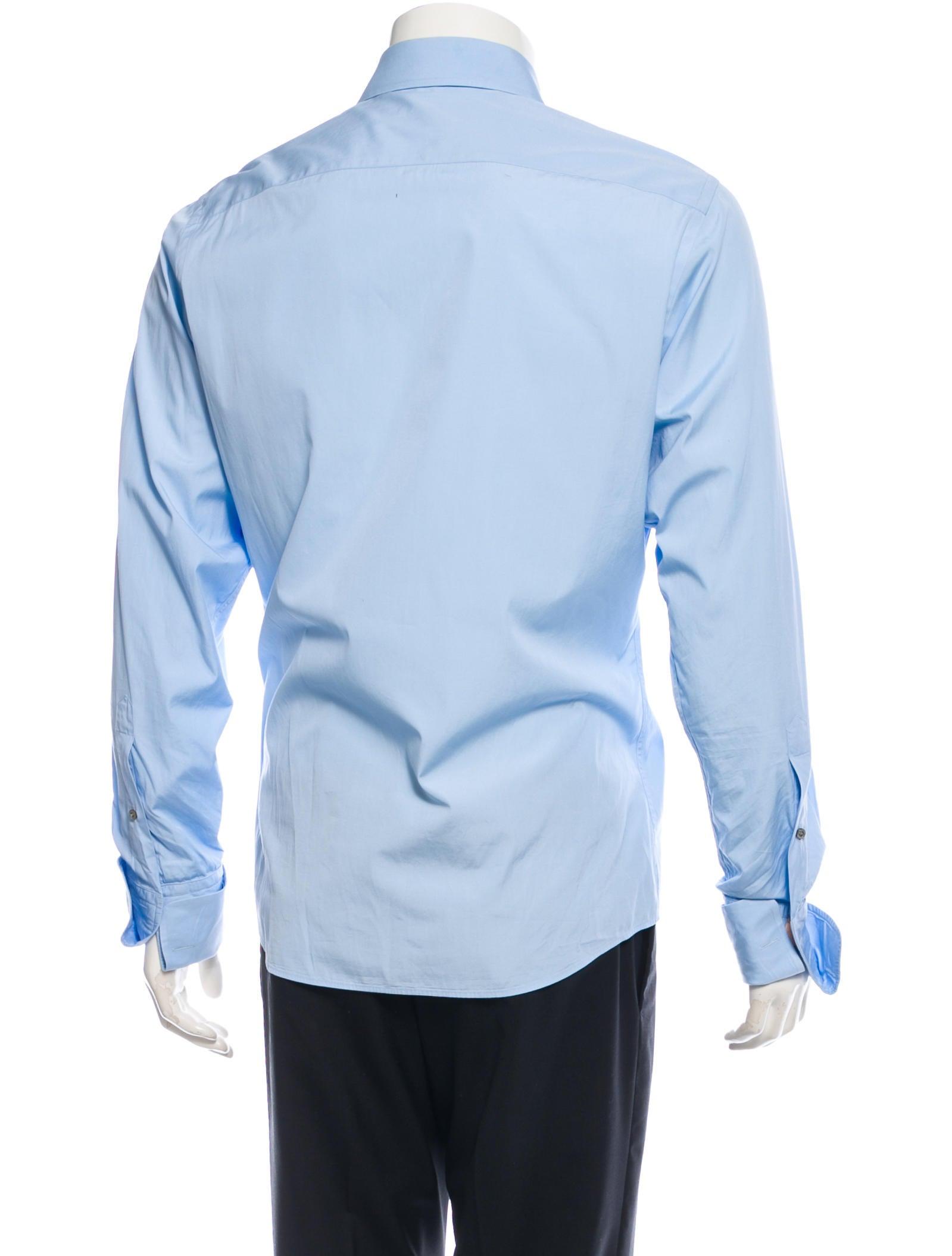 Gucci Long Sleeve Button Up Shirt Clothing Guc76735