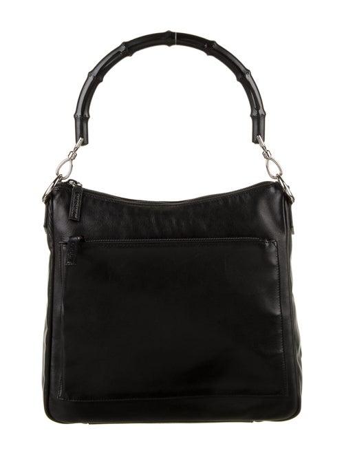 Gucci Vintage Bamboo Shoulder Bag Black