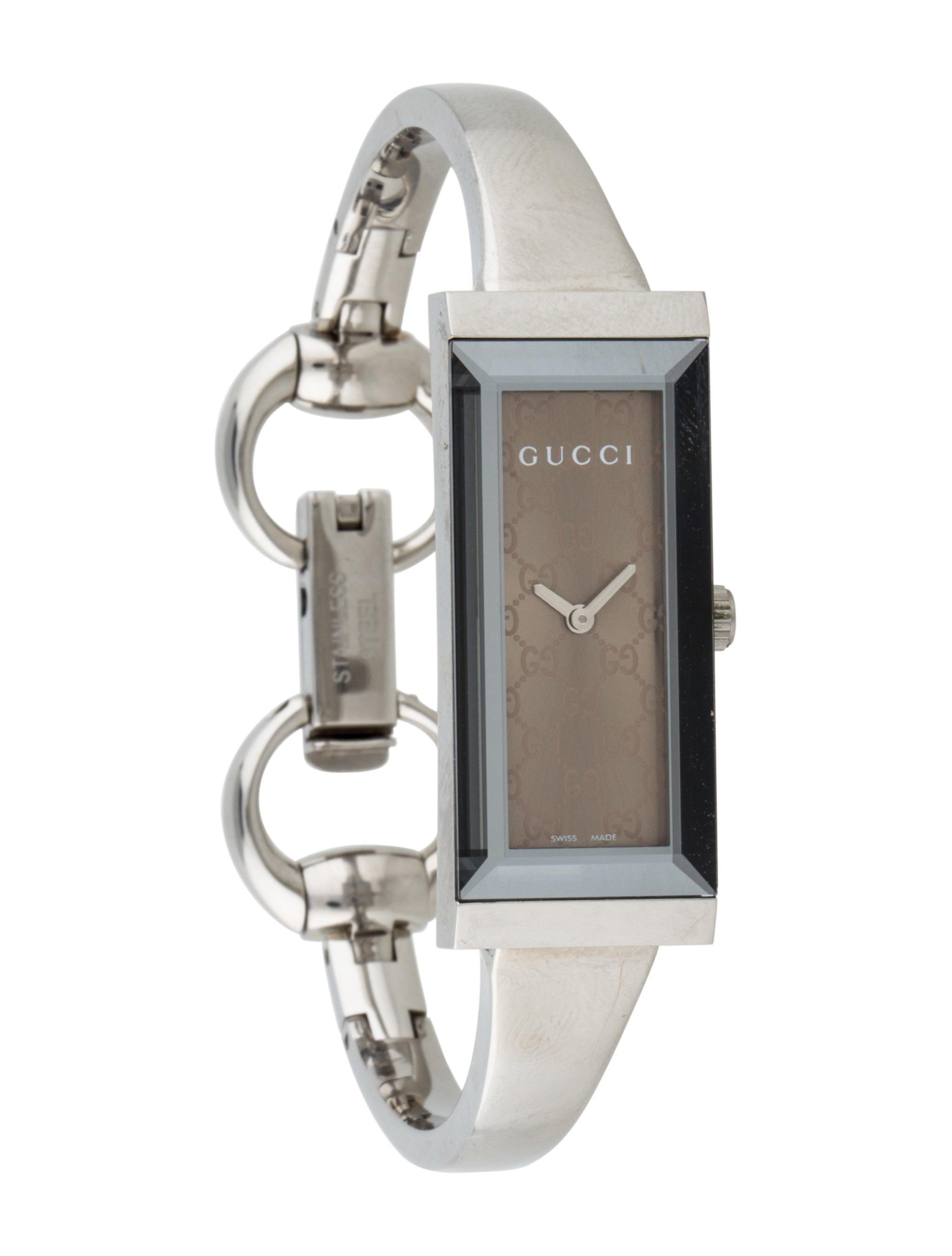 Gucci G- Frame Horsebit Watch - Bracelet - GUC76896   The RealReal