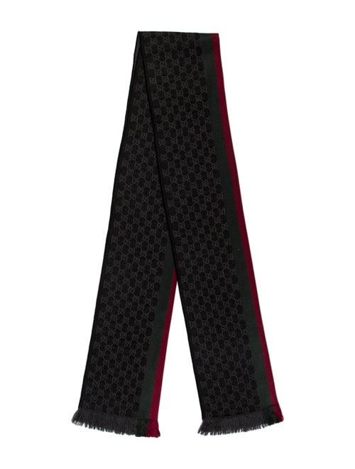 Gucci Printed Scarf Black